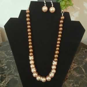 New You had me at pearls necklace set